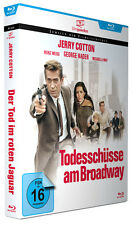 Jerry Cotton: Todesschüsse am Broadway - mit George Nader - Filmjuwelen BLU-RAY