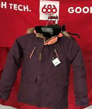 2020 NWT 686 Ceremony Jacket Girls Youth Kids S Small Snowboard 15K B19