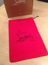 Christian Louboutin Draw String Red Shoe Dust bag 100% Genuine NEW Dust Bag