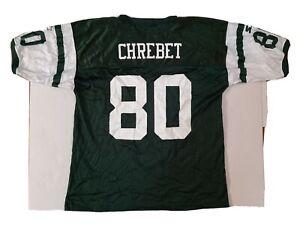 VTG NWT New York Jets Wayne Chrebet Starter  Jersey Mens (52) XL NFL Football