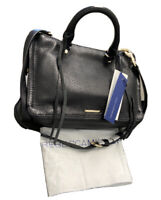 Rebecca Minkoff HS16IPBX61 Micro Regan Satchel Black NWT MSRP $225+Dustbag