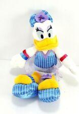 Disney Mickey Mouse Clubhouse Tropical Daisy Duck Plush Stuffed Blue Dress