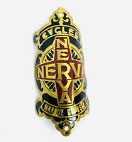Nerva Cycles Bicycle Head Badge Vintage Cycling L'Eroica
