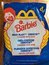 McDonalds Vintage Doll Happy Meal Barbie Bead Blast Christie Figurine  1998 #4