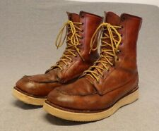 """Vintage 1980's Red Wing Irish Setter Boots """"Crepe Sole"""" Men's Size 10.5B """"Usa"""""""