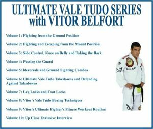 ULTIMATE VALE TUDO Training Series (10) DVD Set grappling bjj mount ground guard