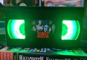 Scary Movie Scream Desk Lamp, Horror Movie, VHS, Bed Light, Present, Gift, TV
