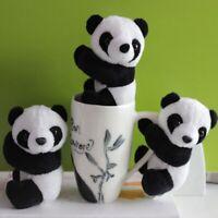 Souvenir Bookmark Notes Stuffed Animal Panda Clip Plush Toys Curtain Clip.