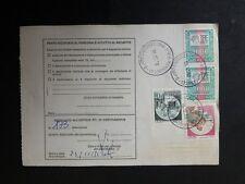 @ INTERESSANTE  STORIA POSTALE REPUBBLICA   BOLLETTINO SPEDIZIONE N° 1 A