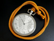 Rare Seiko Silver 885 Phoenix 1970s Vintage Electronic Dentsu 45mm Pocket Watch