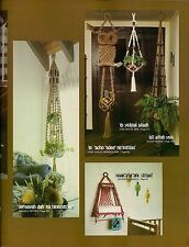 Macrame Owl Plant Hanger Pattern - Craft Book: # Z19 Old Knots And New Ideas