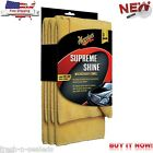 New 3 Shine Microfiber Towel Car Auto Detail Wax Wash Towel Chamois Wipe Polish