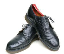 Dr. Martens NANA Made England Croc Embossed Punk 90's Oxford Shoe Women 8 = US 9