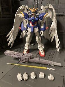 Bandai Arch Enemy Mobile Suit Gundam Wing Zero Custom 0 Action Figure MSIA 7.5