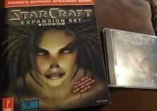 Star Craft Expansion Set Brood War Windows 95, 98, With Manual