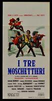 L145 Plakat I Drei Musketiere Alessandro Dumas Borderie Barray Demongeot