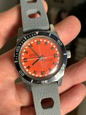 Cool! Vintage Gruen Autowind Automatic Mens Diver Watch 36mm