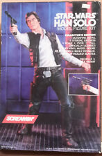 1992 STAR WARS Han Solo Vinyl 1/4 Scale Model Kit-Screamin'-FREE S&H (SWMO-3400)