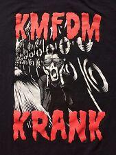 VINTAGE KMFDM KRANK WTF?! TOUR CONCERT SHIRT rock ministry skinny puppy nin vtg