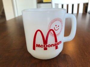 vintage mcdonalds coffee mug - Glasbake USA