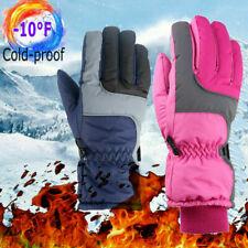 Winter Waterproof Warm Kids Boys Girls Gloves Ski Thermal Mittens Snow Tr