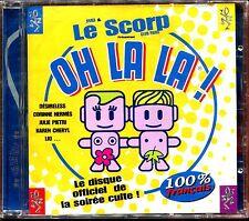 OH LA LA ! JMD & LE SCORP PARIS PRESENTENT .. - CD COMPILATION NEUF SOUS CELLO