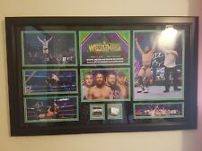 WWE/WWF Wrestlemania 34 Autographed Daniel Bryan Plaque Signed YES Movement