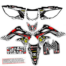 2005 2006 2007 HONDA CRF 450R DIRT BIKE GRAPHICS KIT CRF450R MOTOCROSS MX DECALS