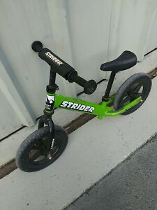 Strider 12 Classic Balance Bike, Ages 18 Months to 3 Years Green