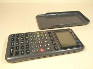 Sharp EL-9200 Graphic Scientific Calculator Good Clean Cond