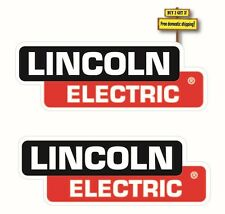 "Pair of (2) Lincoln Electric Welder Replacement Decal/Sticker 3"" x 8.4"" p67"