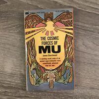 THE COSMIC FORCES OF MU James Churchward (1968) Paperback pb 1st