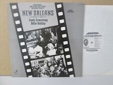 NEW ORLEANS- Jazz Film Soundtrack LP (Louis Armstrong, Billie Holiday) 1947 NM