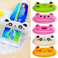 Bathroom Rolling Home Tube Holder Squeezer Easy Cartoon Toothpaste Dispenser NEW