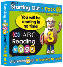 ABC Reading Eggs - Starting Out Pack 3