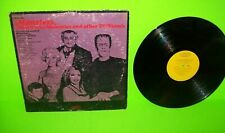 Music For Monsters Munsters Mummies & Other Tv Fiends Vinyl Lp Record Halloween