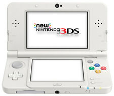 The *NEW* 2014 Nintendo 3DS Console White AUS PAL / C Stick + Cover Plate N0 003