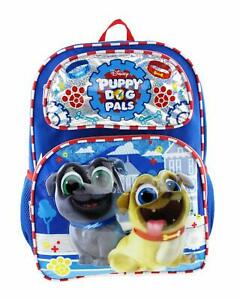 """Disney's Puppy Dog Pals 16"""" Large Size Backpack - Paw Prints"""