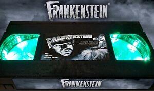 Frankenstein (1931) - Retro VHS Lamp +Remote Control - Classic Monster Horror