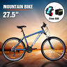 "29""Aluminum Frame Men's Mountain Bike 21 Speed Shimano Hybrid Bicycle Disc Brake"