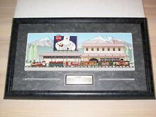 COCA COLA BRAND PIN SET - 1997 TRAIN / ANSTECKNADELN FRAMED 1 of 2500 - NEU OVP