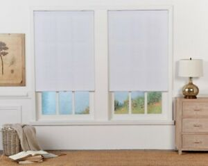 CUT TO WIDTH White Cordless Light Filtering Cellular Shade. Perfect Lift QCWT