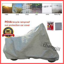 Motorcycle Rain&Dust Protective Cover Waterproof Bike Scooter Outdoor UV Proof