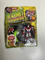 Vintage 1994 Mutant League Football Bones Justice Galoob Figure NEW