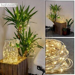 Lichter Kette LED Außen Lampe Solar Leuchten Terrassen Garten Balkon Beleuchtung