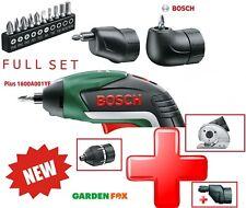 KIT BUNDLE Savers Bosch IXO5 LiIon Cacciavite Senza Fili 06039A8072 3165140800051
