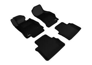 3D MAXpider Floor Liners Kagu Black For 14-19 Cadillac CTS Sedan (RWD Only)