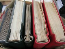 More details for 14.8kg hungary huge collection of stamps in 5 albums + pages etc 1000s