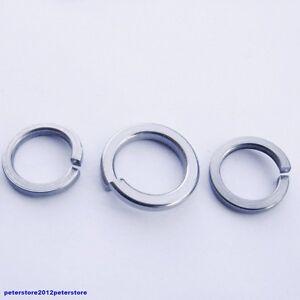 Federringe für Zylinderschrauben DIN 7980 Edelstahl A1 VA  M5 M6 M8 M10 M12 M16