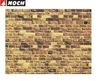 """NOCH H0/TT 57750 Mauerplatte """"Sandstein"""" 64 x 15 cm (1 m² - 35,32 €) - NEU + OVP"""